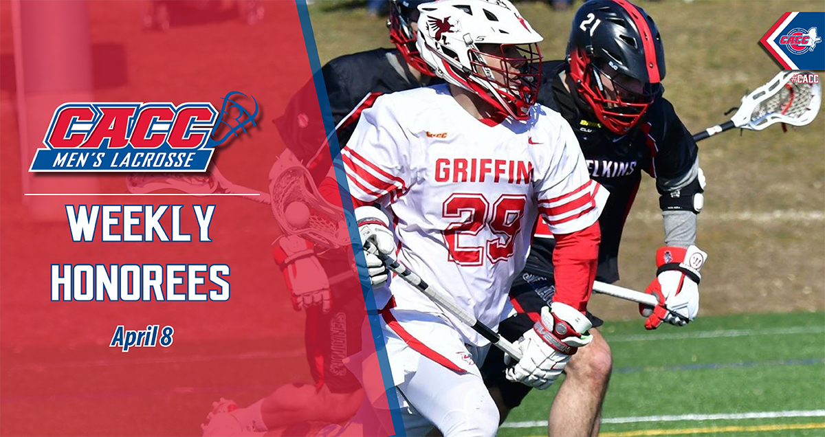 CACC Men's Lacrosse Weekly Honorees (April 8)