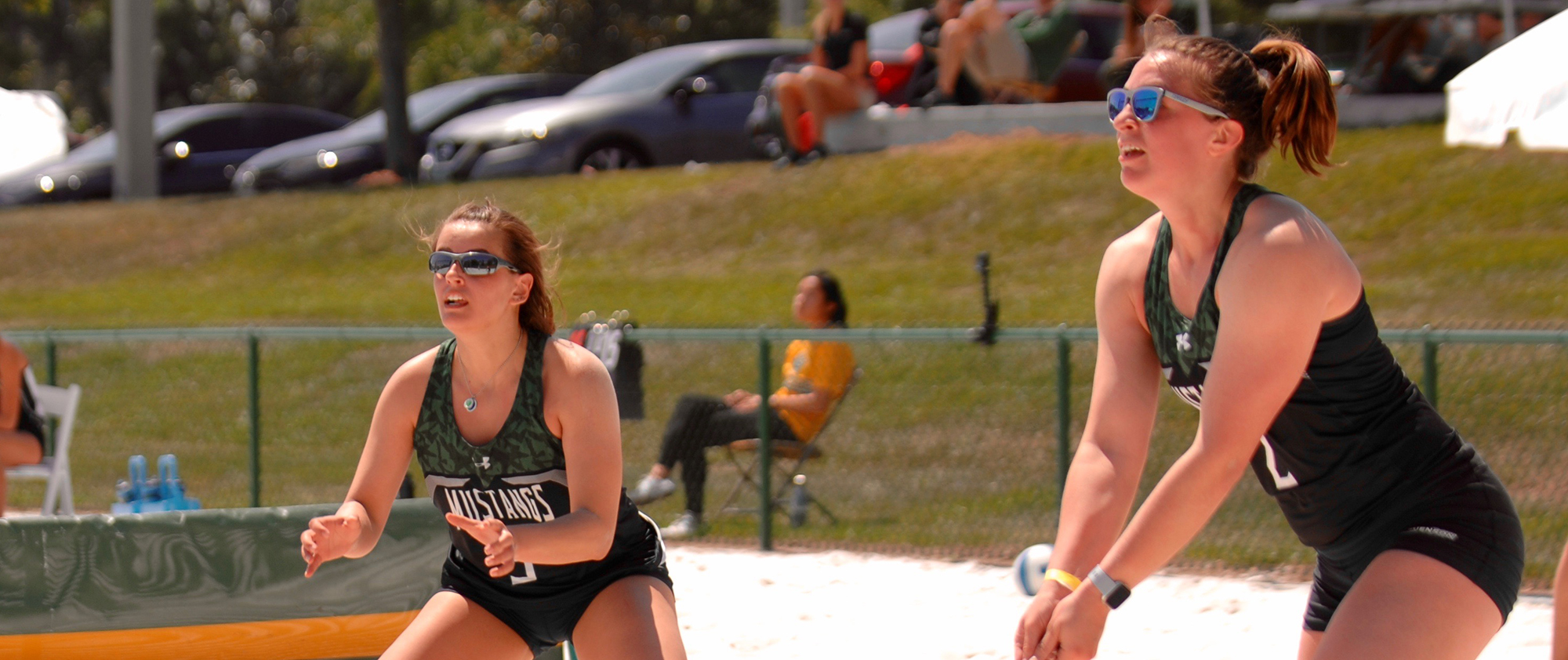 Beach Volleyball Takes Two Wins Over Division II Foes