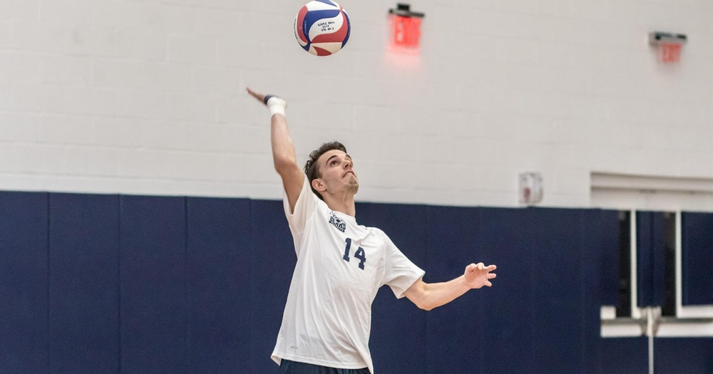 Willis' Season-High Kills Not Enough as Medgar Sweeps Series With Men's Volleyball