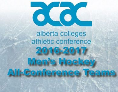 2016-17 ACAC Men's Hockey All-Conference Teams Announced
