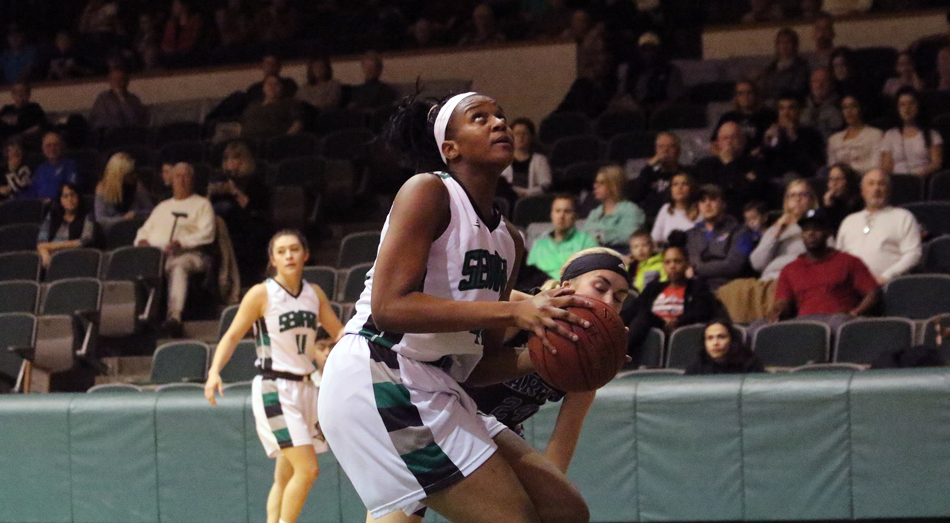 Lady Saints Need Overtime to Beat Barton