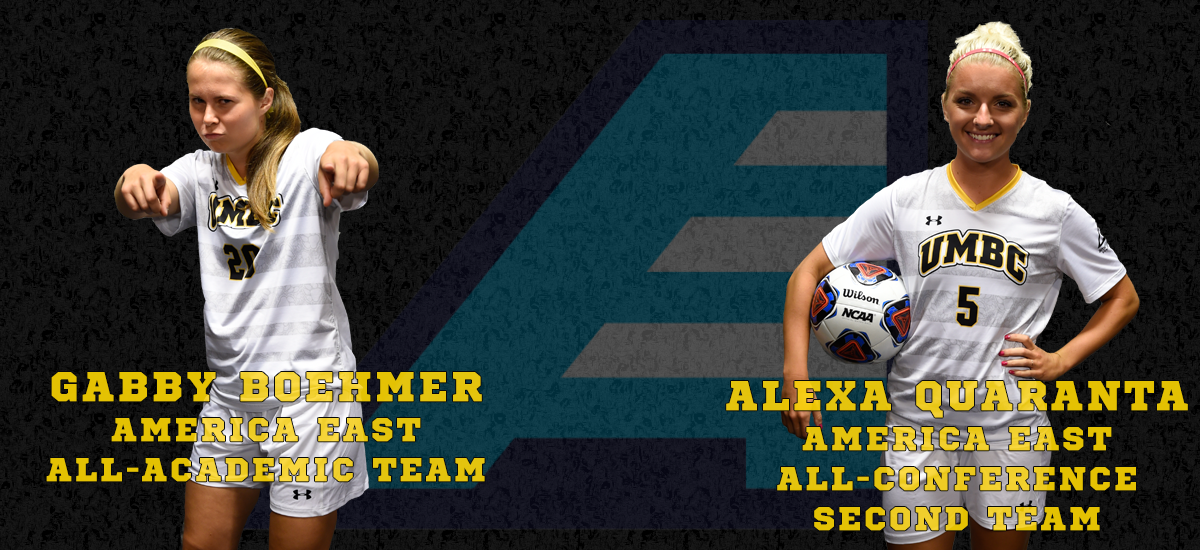 Alexa Quaranta, Boehmer Named to America East All-Conference Teams