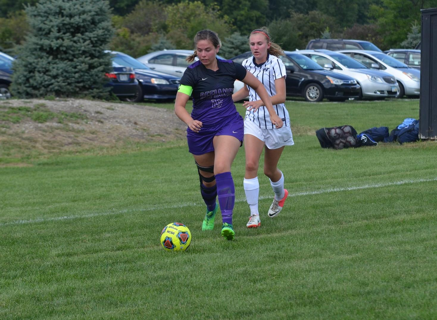 Women's Soccer Finishes Busy Weekend with Loss to Westminster.