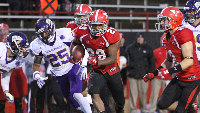 Football Hangs On For 24-14 Win Over Western Illinois