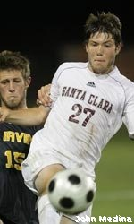 Santa Clara Too Much for Cleveland State