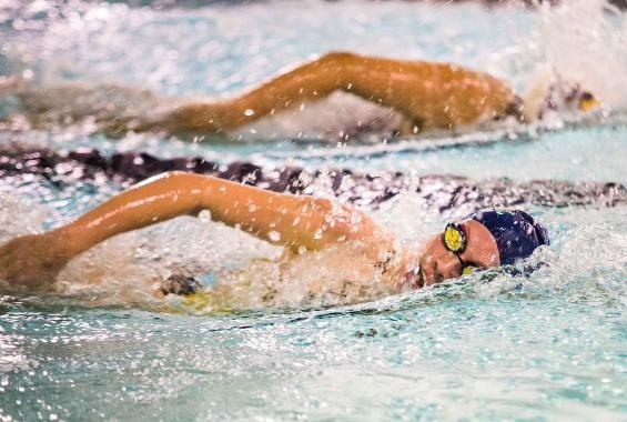 Mazza Selected as Skyline Swimmer of the Week