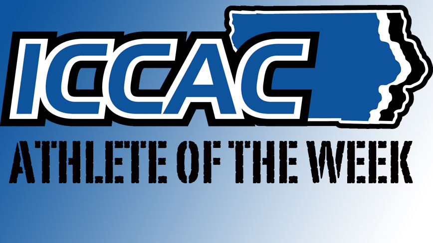 Photo for ICCAC Athlete of the Week - September 19 - 25