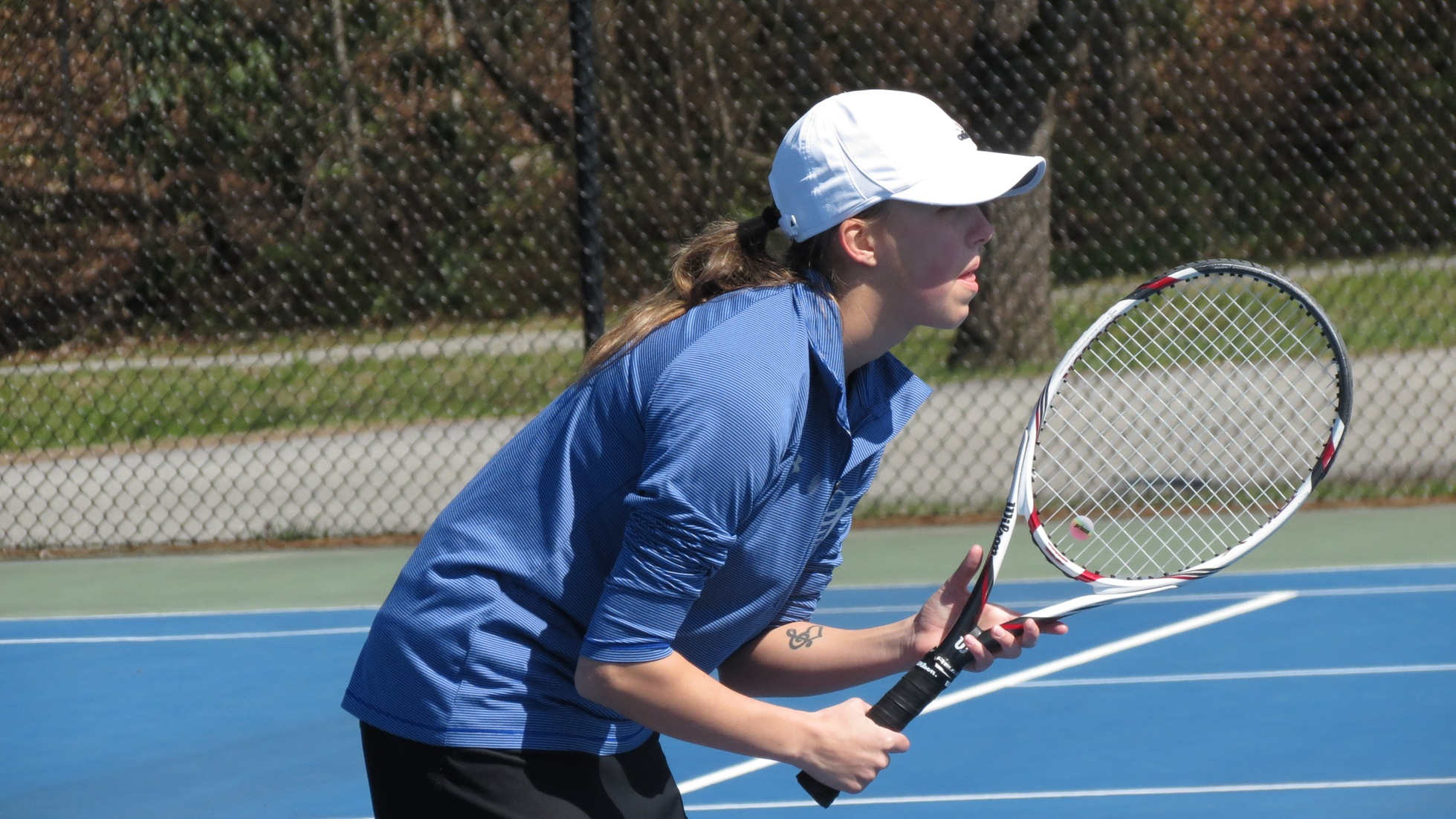 Women's Tennis Earns Thrilling Win Over Maryville