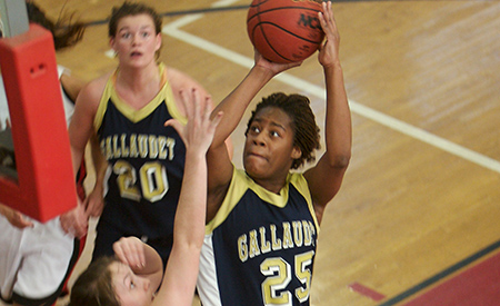 St. Mary's tops Gallaudet, 82-41