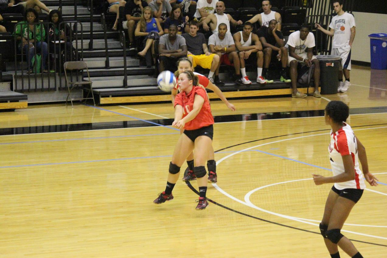 LC Volleyball Splits Pair at Emory Classic