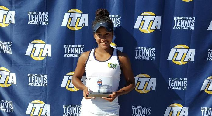 Medina Wins JUCO Championship at ITA Oracle Cup