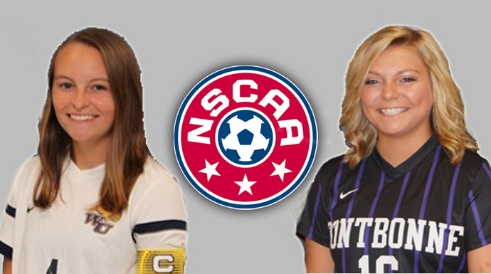 Pagan and Sipole Garner NSCAA Scholar All-Region Honors
