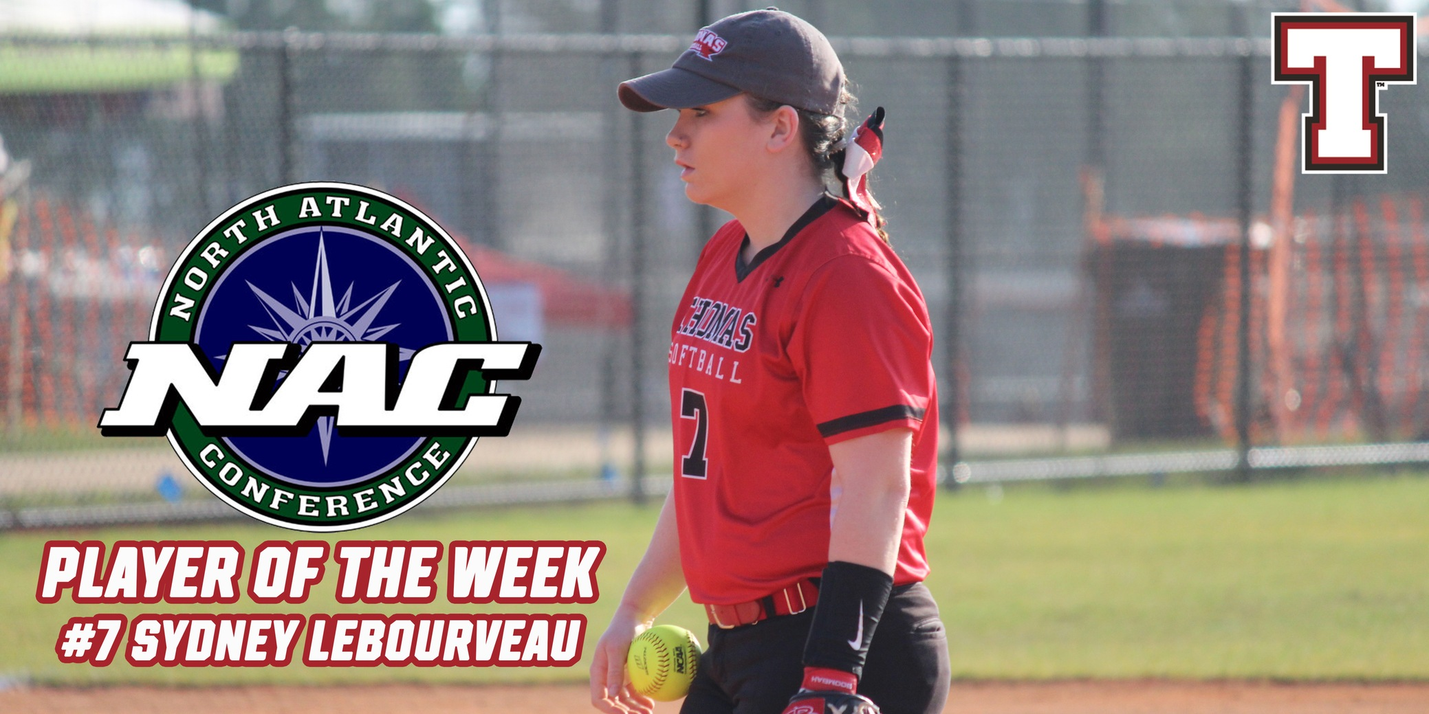 LeBourveau Named NAC Softball Player of the Week