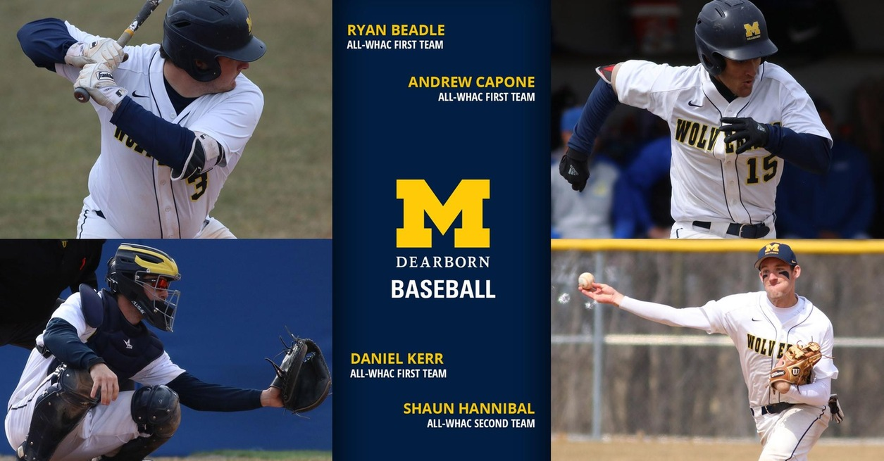 Four Wolverines named to All-WHAC Baseball