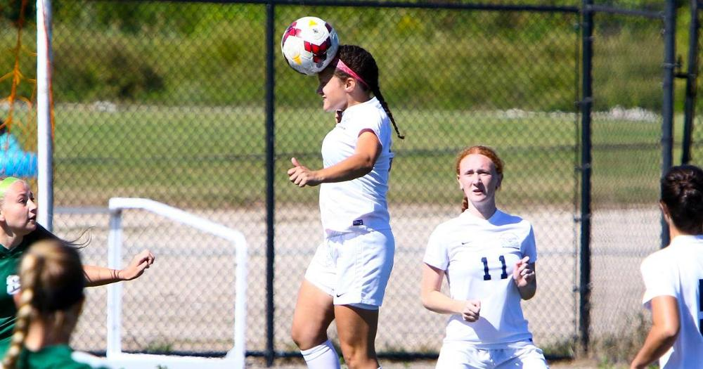 Women's Soccer Meets Long Island in SJCNY Clash