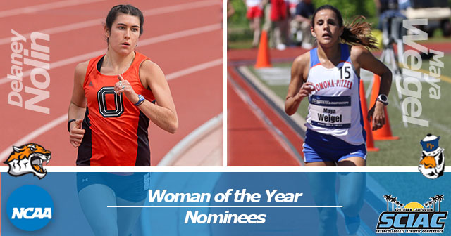 SCIAC Nominates Two for NCAA Woman of the Year