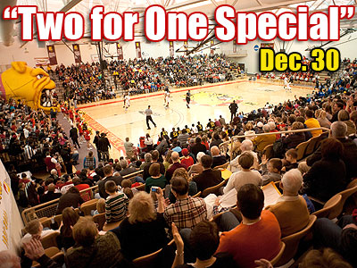 """Two for One Special"" Set For Dec. 30 Games"