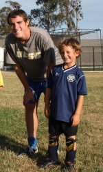 Gauchos Give Back to Next Generation of Soccer Stars