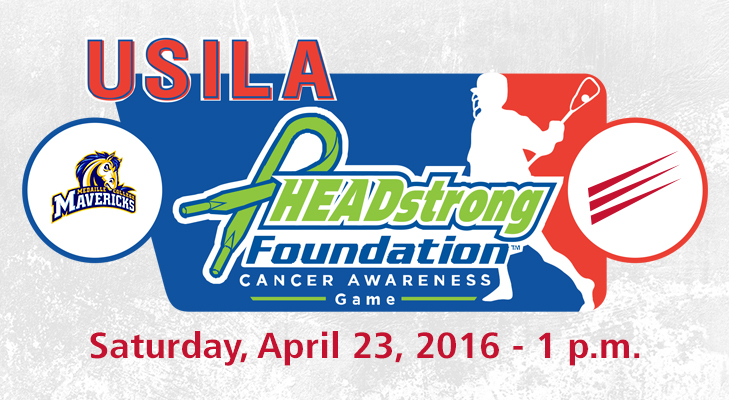 Men's Lacrosse To Support HEADstrong Foundation