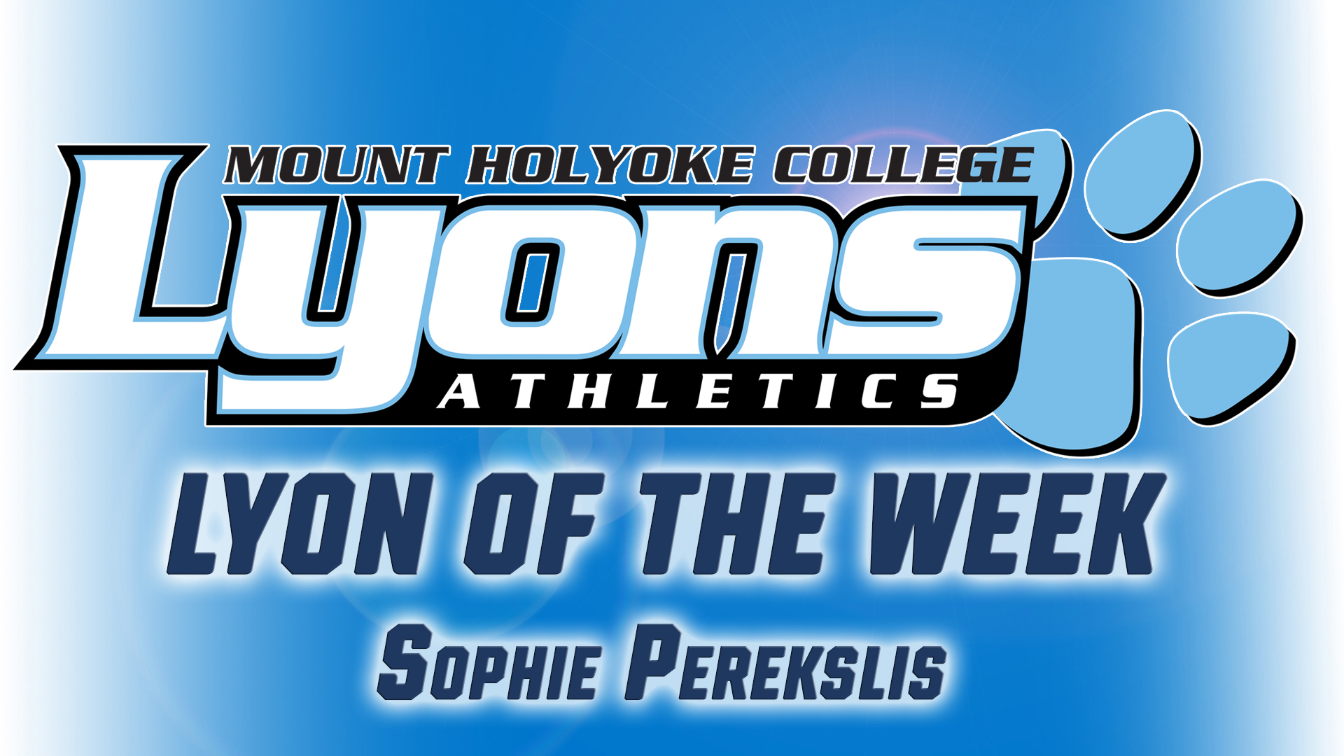 Perekslis Garners Lyon of the Week Honors