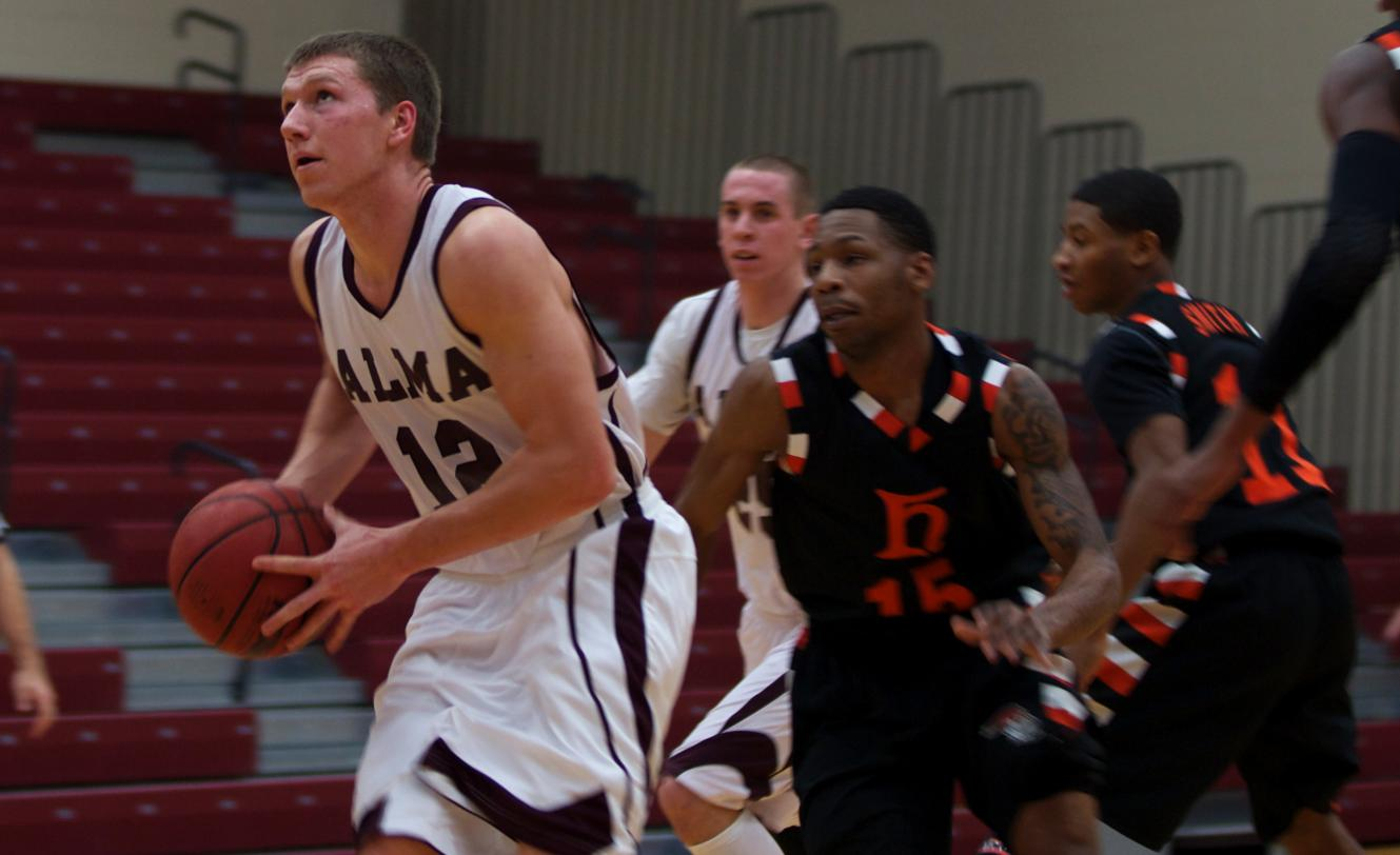 Scots Men's Basketball defeats Heidelberg 69-66 in final game of Alma Thanksgiving Classic