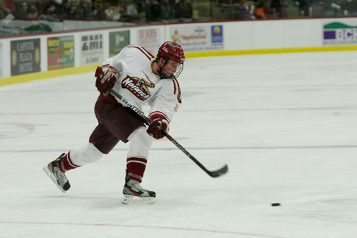 Men's Hockey: Cadets shut out University of New England 6-0
