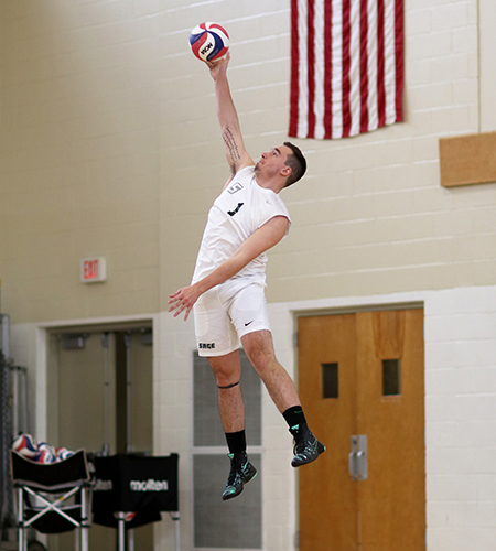 Sage men's volleyball posts a pair of key Skyline wins on Saturday