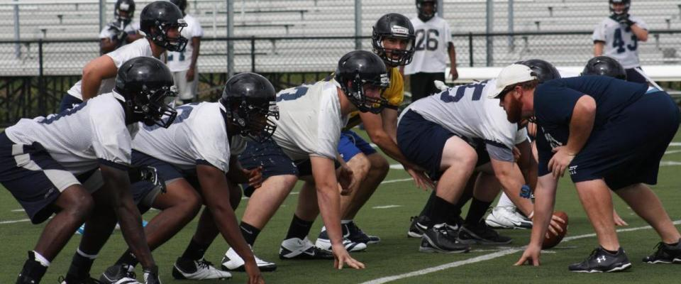 Wesley College Football Training Camp 2012