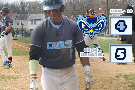 CCBC Dundalk Squeaks By Prince George's Baseball In Extra Innings, 5-4