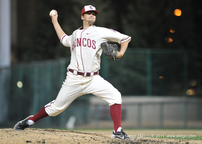 Strong Pitching Takes Down Bronco Baseball