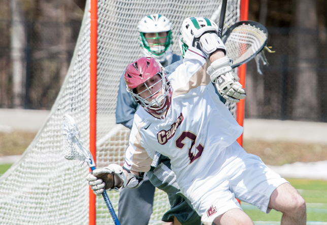 Men's Lacrosse: Cadets Sprint to 10-5 win against Mustangs