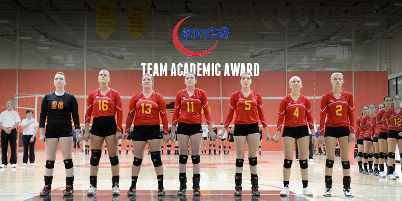 Volleyball takes home AVCA Team Academic Award