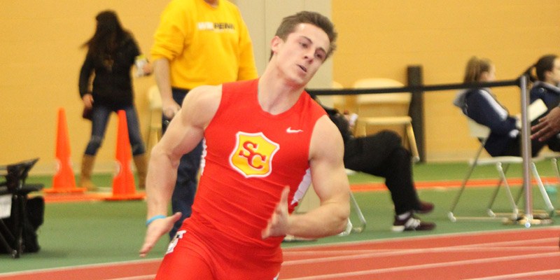 McKenzie, sprinters pace men's track and field at Grinnell