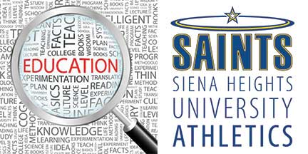 siena heights student athletes earn 305 gpa in fall semester