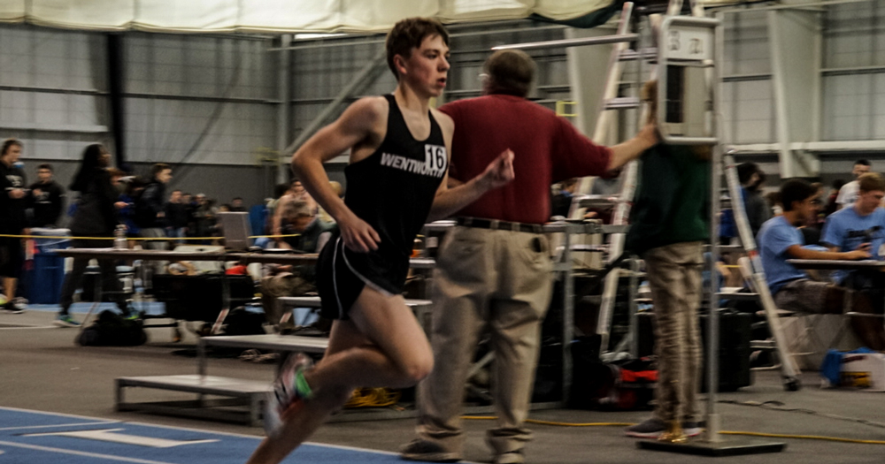 Records Fall, Aronov Qualifies for DIII New England's in Men's Track and Field Season Opener