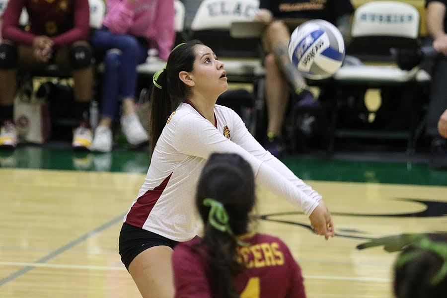 Lancer Pamela Galvan was named South Coast Conference Libero of the Year.