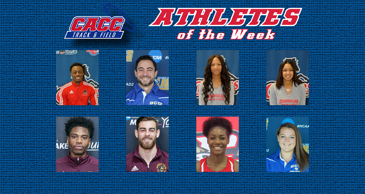 WILSON EARNS THIRD CACC TRACK ATHLETE OF THE WEEK HONORS