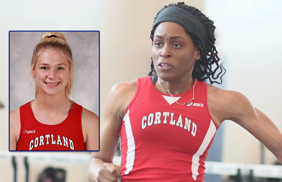 Cortland Athletes Take Weekly Women's Track and Field Awards