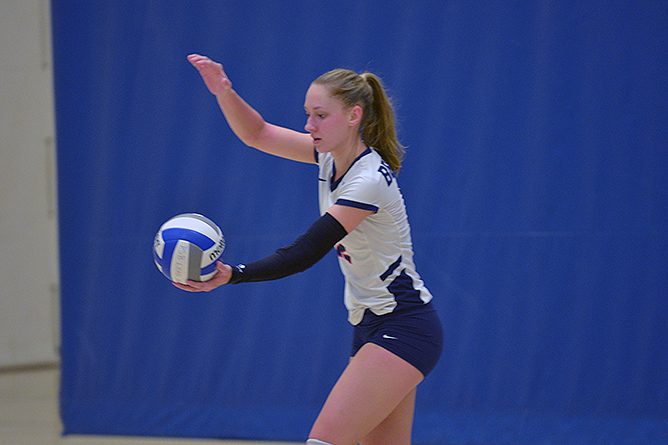 Hot Streak Continues For Women's Volleyball