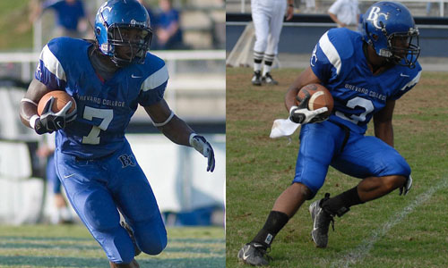 Receivers Hudson and Pratt both had career days on Saturday.