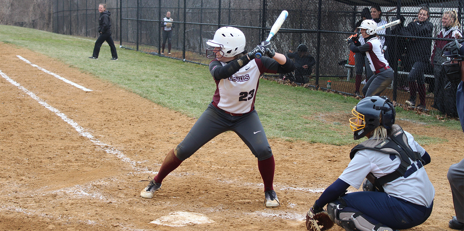 Softball Rallies in Game One; Gaynor Tosses Shutout in Game Two for Sweep of Goldey-Beacom