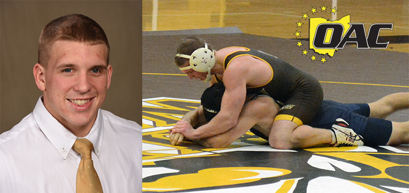 All-American Gunter Garners Third Career OAC Wrestling Weekly Honor