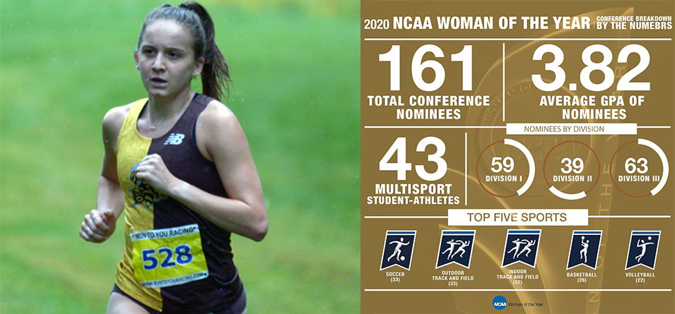 All-American Distance Runner Brennan Named NCAA Woman of the Year Award Conference-Level Nominee