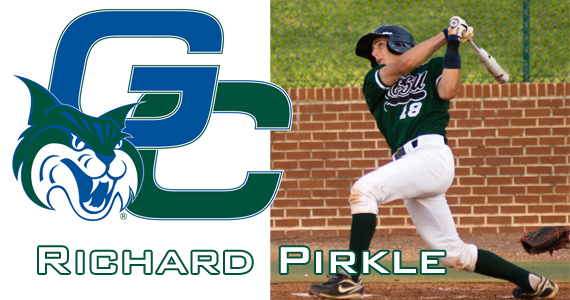 Pirkle Wins Kurtz Award, Smashes Homer in 6-1 Bobcat Win