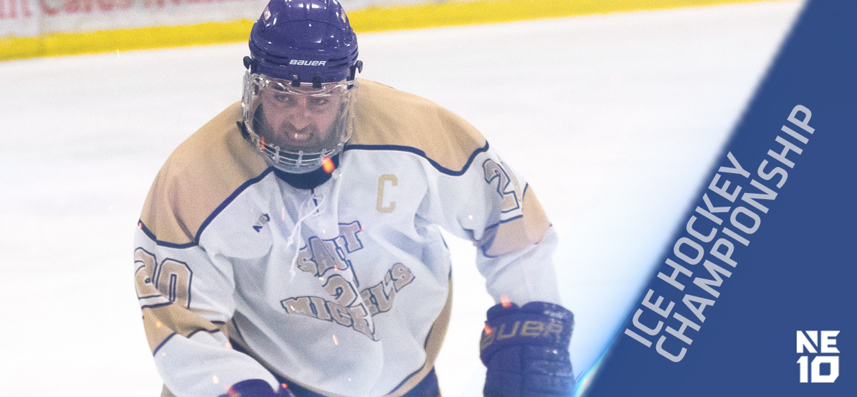 Embrace The Championship: Saint Anselm, Saint Michael's to Meet in NE10 Ice Hockey Championship
