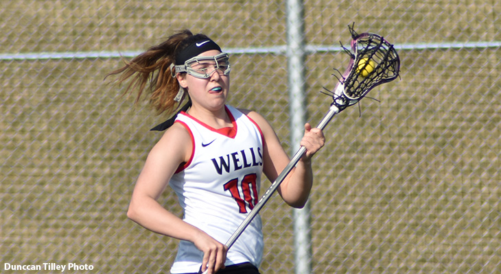 Late First-Half Surge Boosts Women's Lacrosse Win