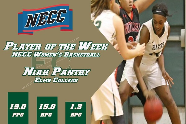 Pantry Picks Up Third NECC Player Of  The Week Honor