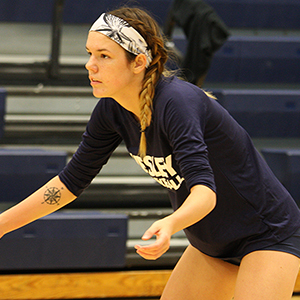 Volleyball Tops Goucher to Save Split Against Misericordia