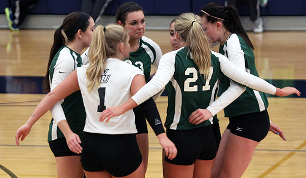 Comeback Falls Short as Wilmington Volleyball's Season Comes to a Close in CACC Semifinals, 3-1, to Caldwell