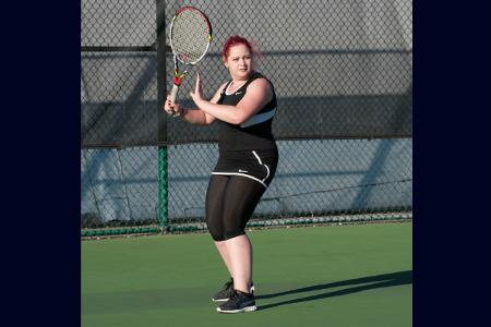 Women's tennis team loses conference match to New Rochelle 8-1 at USTA Billie Jean King National Tennis Center